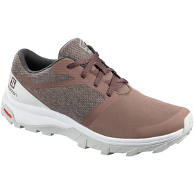 Salomon Outbound Zapatillas Mujer, peppercorn/lunar rock/white